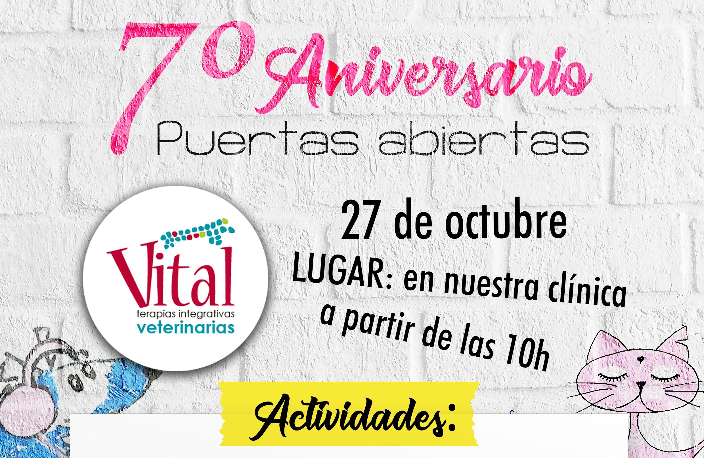 VII Aniversario de Vital Veterinaria – Puertas abiertas