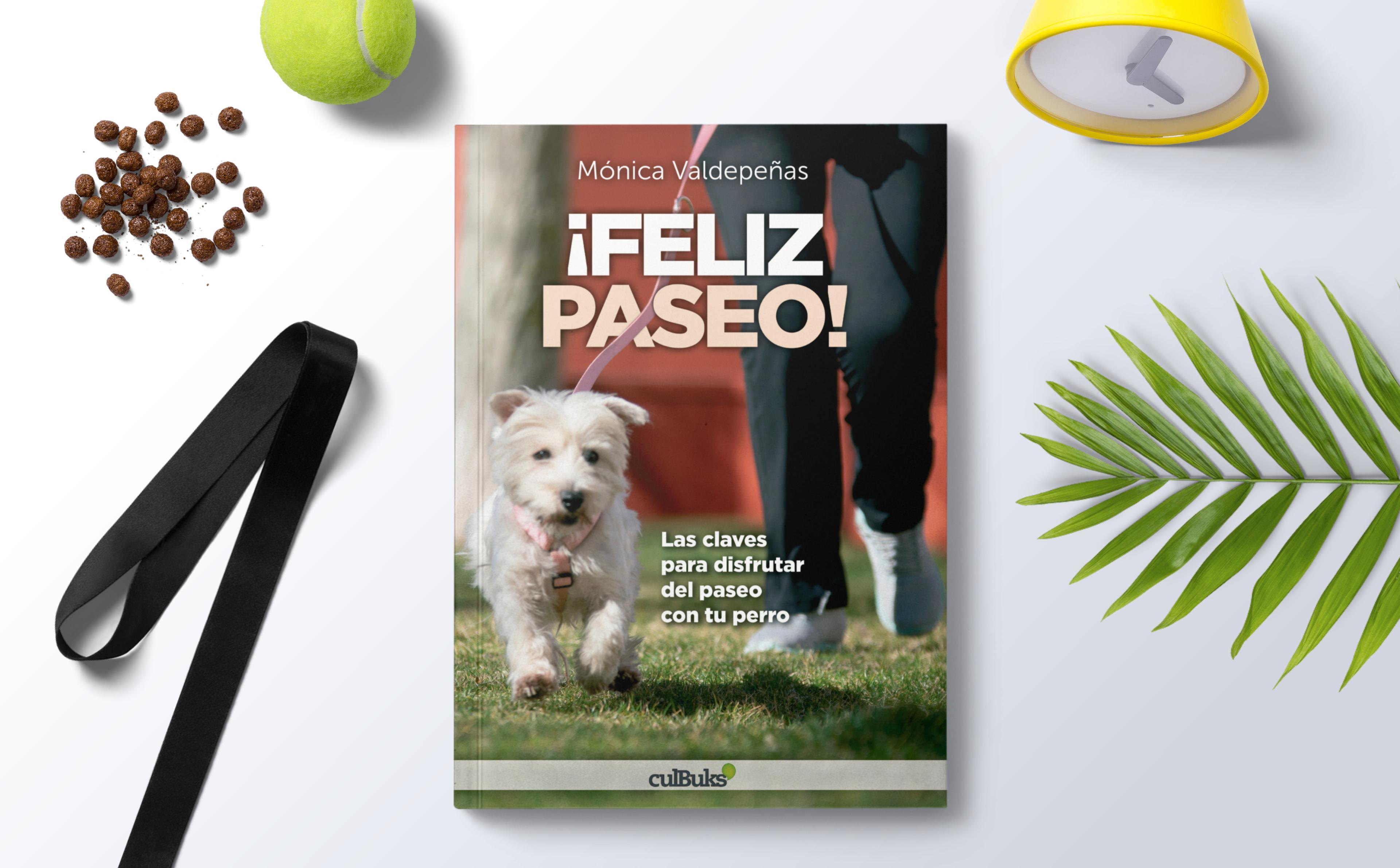 Presentación del libro «¡Feliz paseo!» en Vital Veterinaria. ¿Te animas?